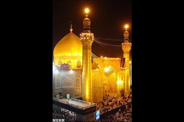روایت عکاس ایرانی از اولین شب قدر حرم امام علی(ع) بعد ازسقوط صدام