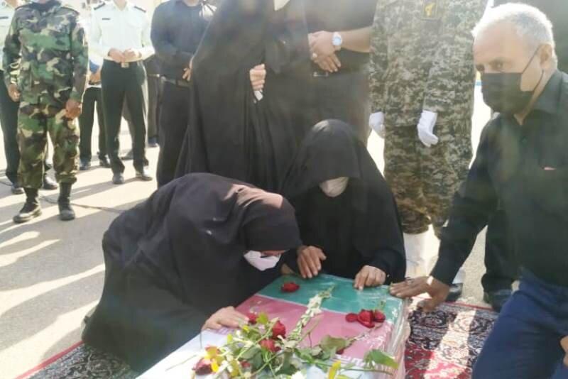 پیکرهای ۳ شهید دفاع مقدس بعد از ۳۹ سال در دزفول تشییع و تدفین شد