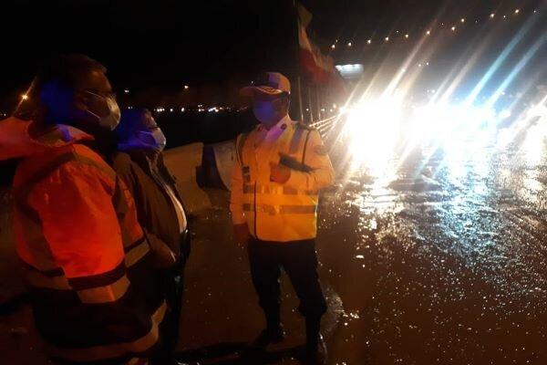 سیل شب گذشته در استان تهران تلفات جانی نداشت