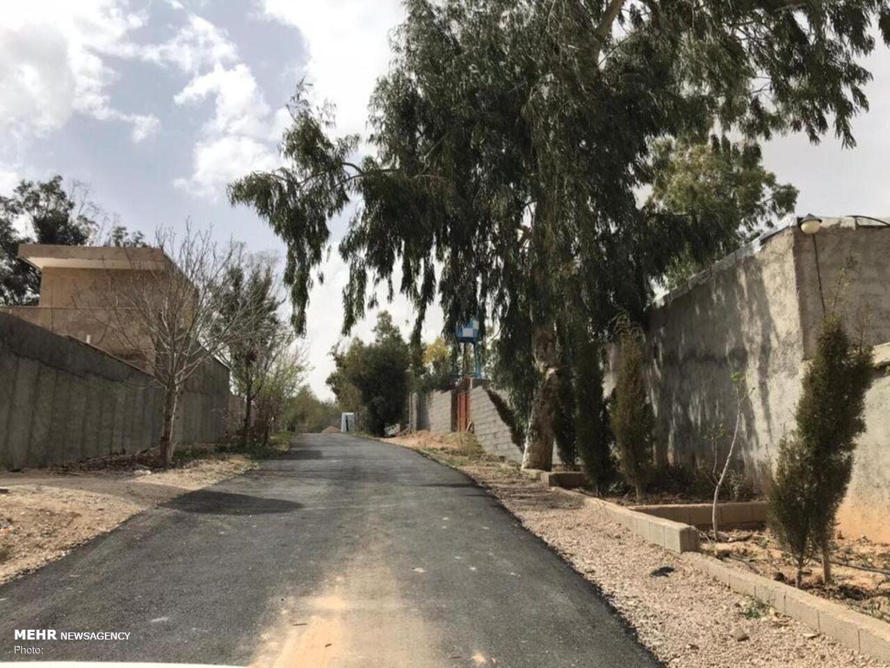 روحانی جهادگری که راه ساخت/ جاده ای به سوی آبادانی