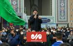 چهارپایه خوانی محمود کریمی در حرم رضوی