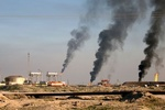 ISIL terrorists blow up two oil wells in Iraq's Kirkuk