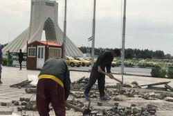 چالش تازه برج «آزادی» پس از حواشی شلیک توپ نوروزی!
