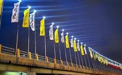 آغاز طرح نورپردازی پلهای سواره رو در منطقه ۲