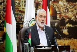Hamas lideri Heniyye'den İsrail'e sert tepki