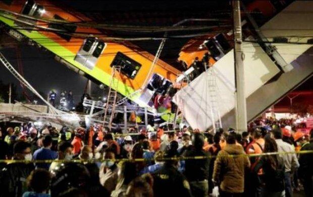 میکسیکو میں پل گرنے سے 23 افراد ہلاک