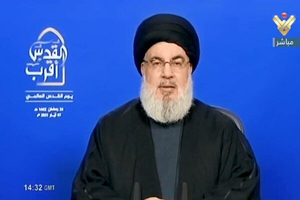 Liberation of Quds closer than ever: Hezbollah chief