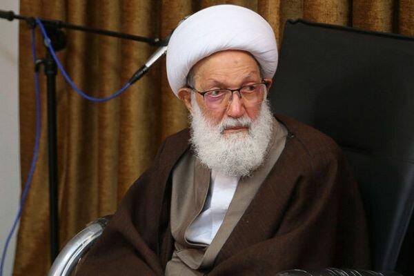 المرجع الديني عيسى قاسم يمدح مواقف قائد المعارضة البحرينية