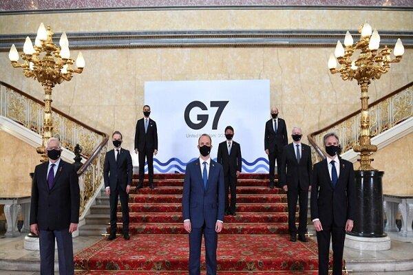 وزرای خارجه «جی ۷» از ادامه گفتگوهای وین حمایت کردند