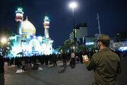 Tahran'da Ehya gecesi merasimi