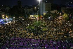 Tehraners observe Night of Qadr in Palestine Square