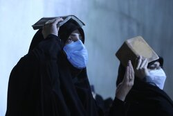 احیای شب بیست و سوم ماه رمضان در امامزاده قاضی الصابر (ع)