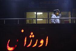 احیای شب بیست و سوم ماه رمضان در بیمارستان شهدای تجریش