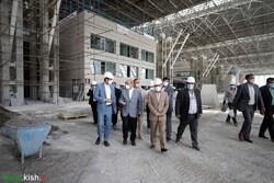 سفر مشاور رییس جمهور با هدف پیگیری پیشرفت ساخت پایانه فرودگاه کیش