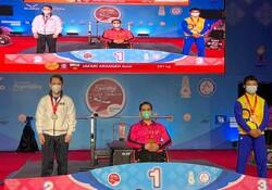 Iran's Jafari snatches gold at World Para Powerlifting World Cup