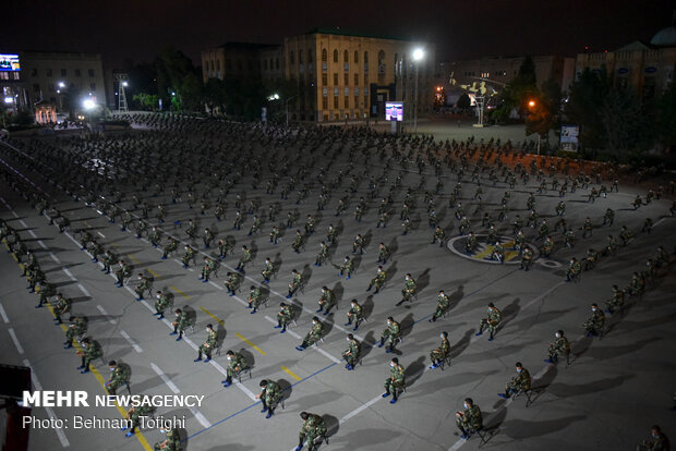 """Third """"Night of Qadr"""" observed in Imam Ali Officers' Academy"""