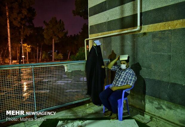 احیای شب بیست و سوم ماه رمضان در امامزاده عبدالله (ع) گرگان