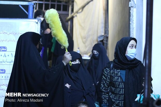 Night of Qadr in Imamzadeh Ghazi Saber