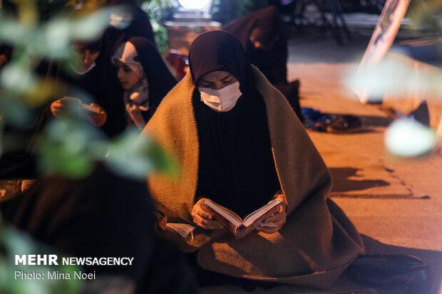 احیای شب بیست و سوم ماه رمضان در تبریز