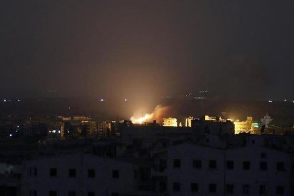 Zionist aggression attack on Quneitra leaves no damage
