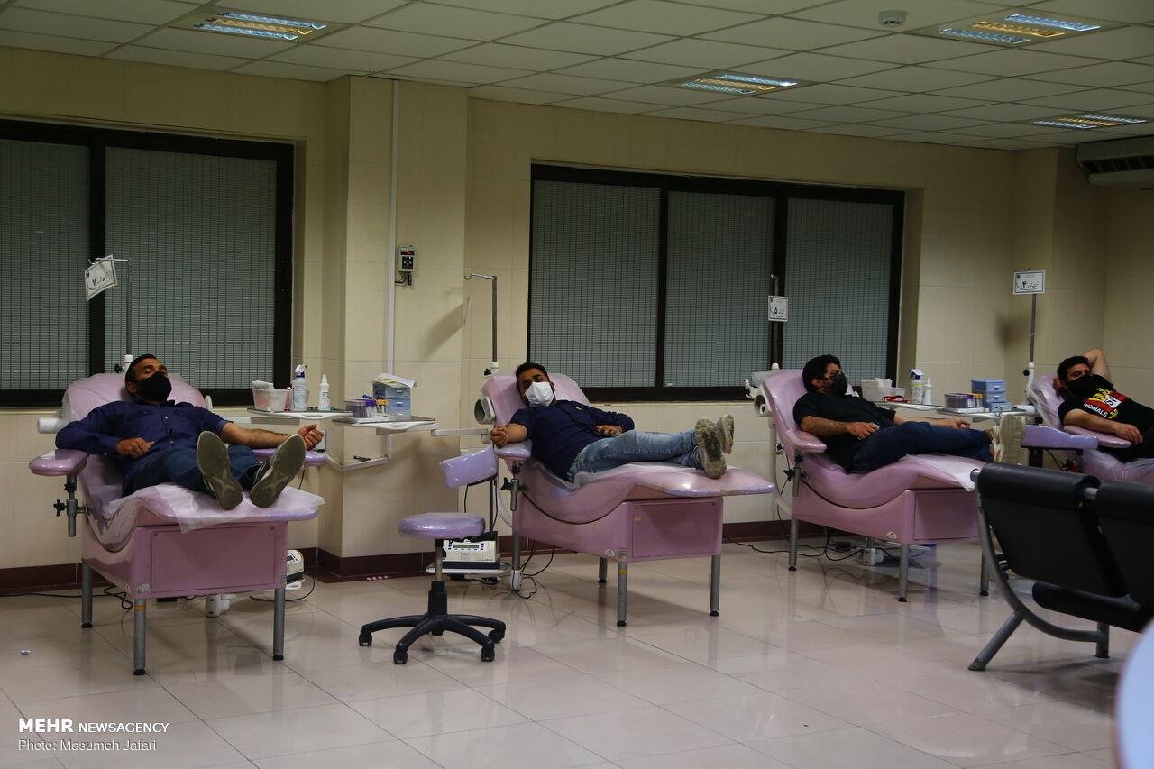 وضعیت تامین خون در استان های تالاسمی خیز کشور
