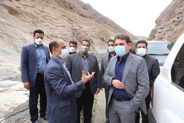 بازدید استاندار کرمان از مناطق سیل زده/ جاده ایمن احداث می شود