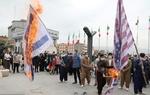 İran'da Siyonist Rejim bayrağı ateşe verildi