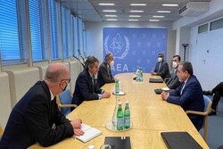 Araghchi meets with IAEA chief in Vienna for bilateral talks