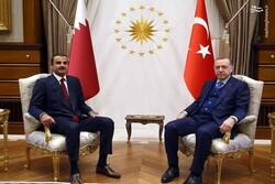 «اردوغان» با امیر قطر تلفنی گفتگو کرد