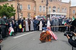 مراسم گرامیداشت روز جهانی قدس در ارومیه برگزار شد