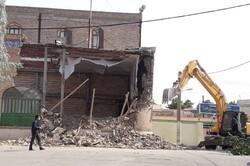 مسجد امام حسن(ع) شاهرود تخریب شد