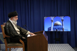 سخنرانی تلویزیونی رهبر انقلاب اسلامی به مناسبت روز جهانی قدس