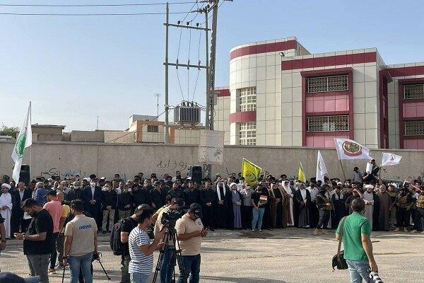 مسيرة يوم القدس في محافظات عراقية تطالب بخروج القوات الامريكية