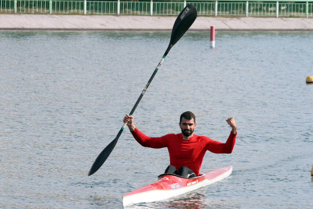 Iranian rower Aghamirzaei secures Olympics quota