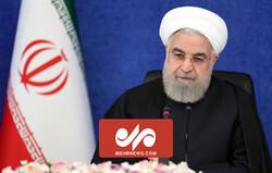روحانی: مسیر نزولی پیک چهارم آغاز شده است