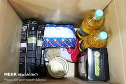 توزیع بسته های معیشتی بین نیازمندان سنقر و کلیایی