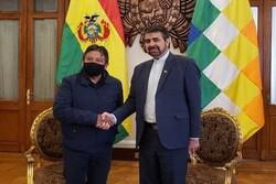 Tehran, La Paz to prepare coop. program