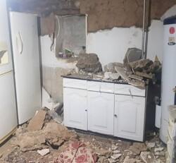 وارد آمدن خسارات جزئی به ۵۰ واحد مسکونی در سروآباد