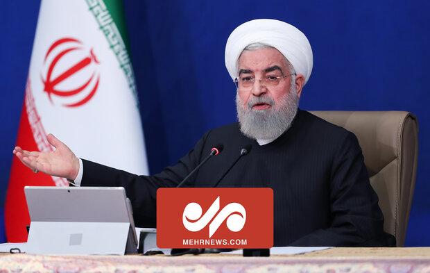 روحانی: کرونا را دستمایه مسائل انتخاباتی قرار ندهید