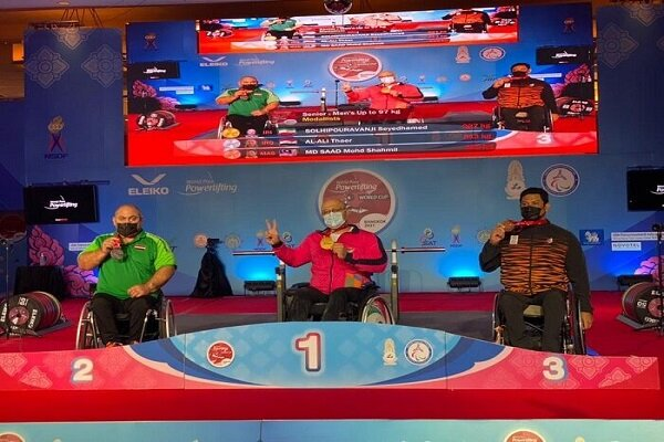 Iran's Solhipour wins gold at World Para Powerlifting C'ship