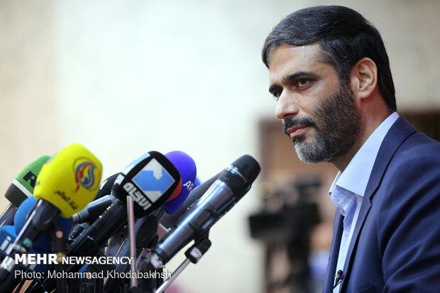 نشست خبری سعید محمد