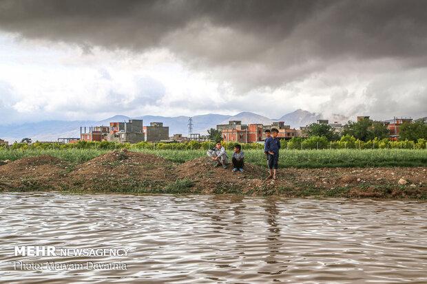 وقتی باران کم کاری های حاشیه شهر بجنورد را آشکار می کند