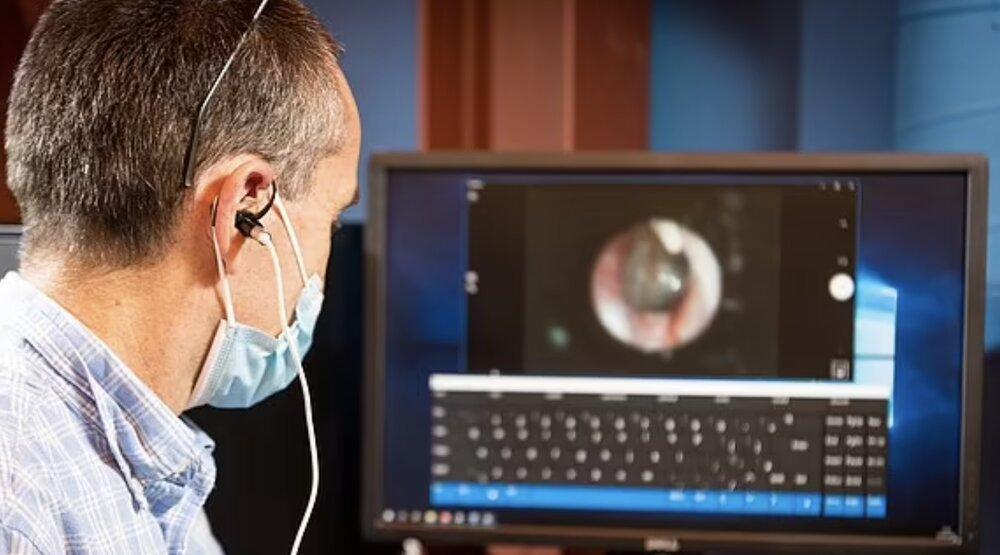 امکان کنترل رایانه با ماهیچه گوش برای افراد معلول