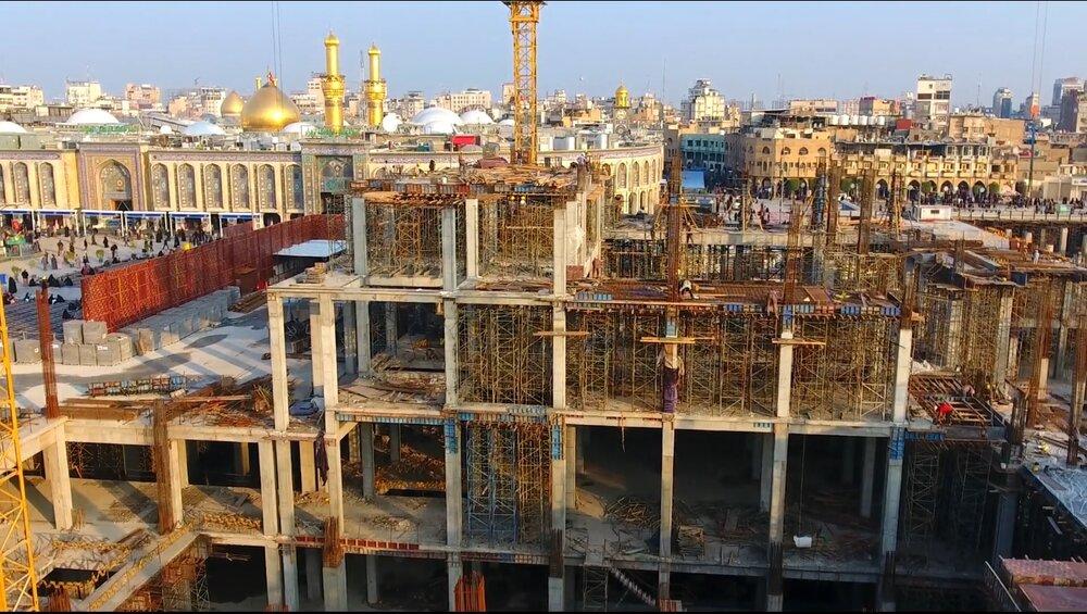 در طرح توسعه حرم حسینی ۱۴ برابر زیر بنا افزایش پیدا می کند