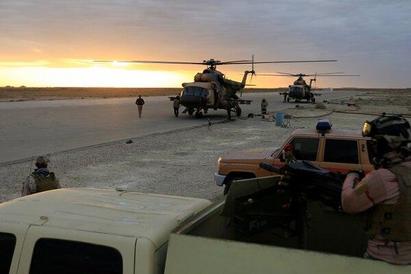 حمله راکتی به پایگاه نظامی عین الاسد در غرب عراق