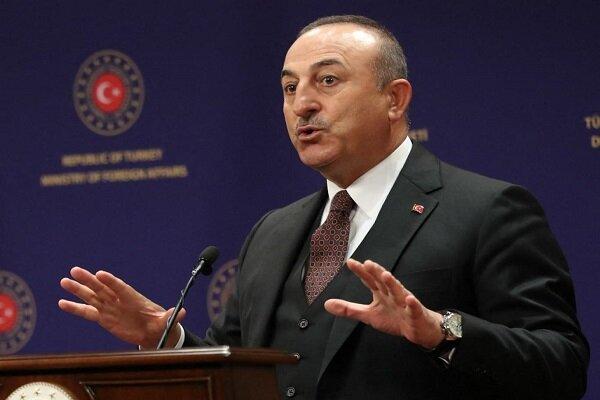 وزیر خارجه ترکیه حملههای تروریستی در فرودگاه کابل را محکوم کرد