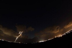 Rocket hits Zionist settlement of 'Eshkol'