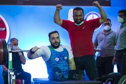 بازتاب رکورد شکنی پاراوزنهبردار ایران در سایت کمیته بینالمللی پارالمپیک