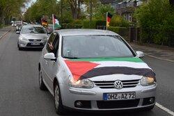 راهپیمایی خودرویی روز قدس در آلمان