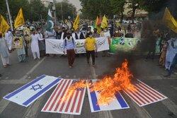 پاکستان میں فلسطین کی حمایت میں مظاہرے/ جمعہ کو فلسطینیوں کے ساتھ یکجہتی کا اعلان
